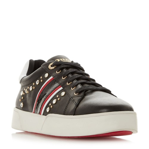 Dune Eryn Embellished Lace Up Trainers Trainers Flat D927681 IBXNETF