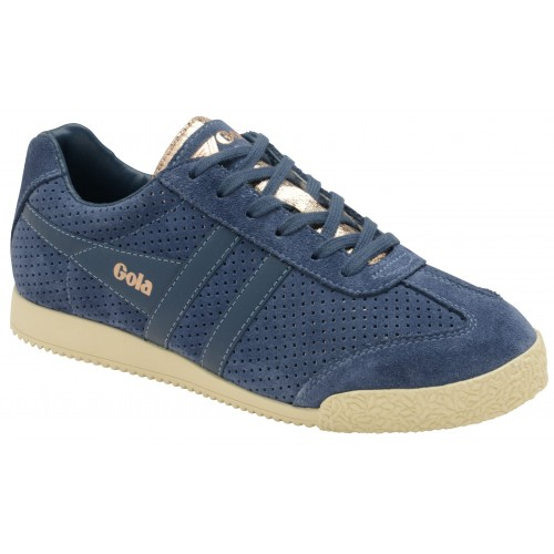 Gola Harrier Glimmer Suede Trainers Trainers Flat D728595 PRCOOQB