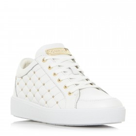 Guess Glinna Quilt/pin Sneakers Trainers Upper - Leather D938041 XRYMULF