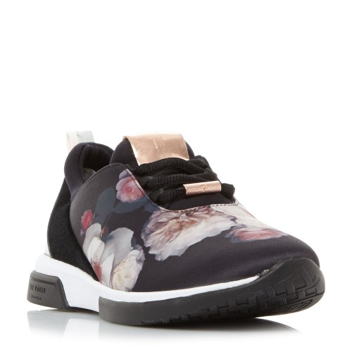 Ted Baker Cepap Printed Lace Up Trainers Trainers Low Heel D826090 XRZOTRP