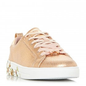 Ted Baker Luocia Printed Cup Trainers Trainers Flat D940839 LIBQFJA