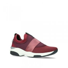 Women Carvela - Red 'Laidback' low top trainers 58958_1943754609 YYNORZD