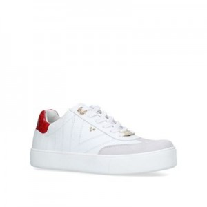 Women Carvela - White 'Lost' lace up trainers 58958_1944410109 DQCTWZH