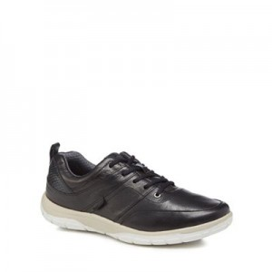 Women Strive - Black leather 'Maine' trainers 0680102939 IFRUHUC