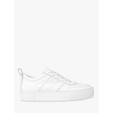 Women Whistles Anna Deep Sole Trainers White 12636220 VQPAYYC