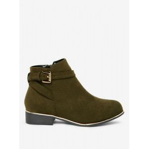 Women Dorothy Perkins - Wide fit khaki mayan boots 33678_35324517 KNLNGCI