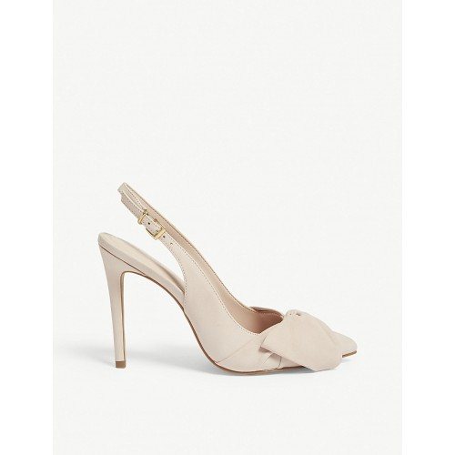 ALDO Women Separation bow detail leather pumps Ankle buckle fastening DEOXLGH