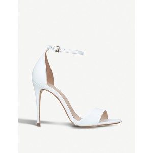 CARVELA Women Glimmer leather heeled sandals Buckle fastening at ankle strap LGJAOOW