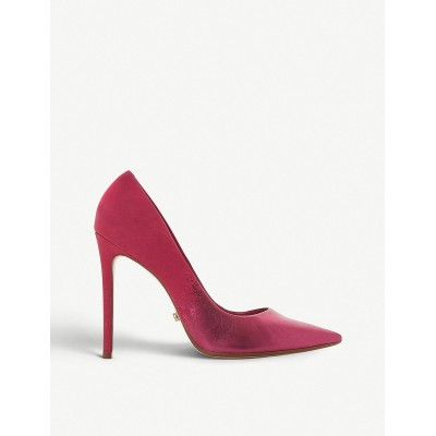 DUNE Women Brighte ombre suede and metallic courts Slip on HLHZVGQ