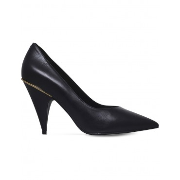 NINE WEST Women Whistles leather court shoes Slip on ZHOZYME