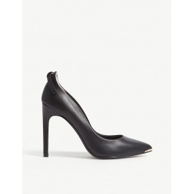 TED BAKER Women Livlia leather courts Slip on BVVUUQP