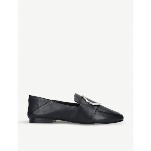 ALDO Women Cadericia ring-detail leather loafers Slip on CBOGXVE