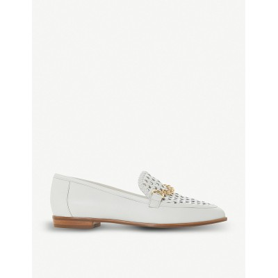 DUNE Women Galowe chain-detail leather loafers Slip on PRDYPLW