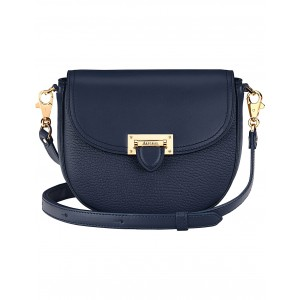 ASPINAL OF LONDON Women Letterbox leather saddle bag Letterbox closure TFPEPWN