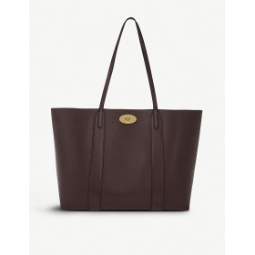 MULBERRY Women Bayswater small grained-leather tote Turnlock clasp fastening FFENVSA