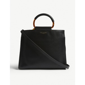 KURT GEIGER LONDON Women Harriet leather tote bag Open top TEAHQED