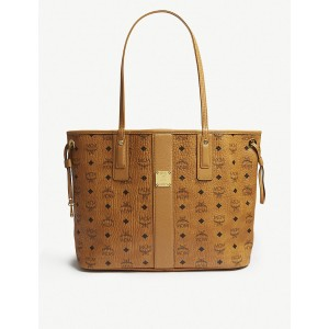 MCM Women Oversized leather tote Open top MRQEOOD