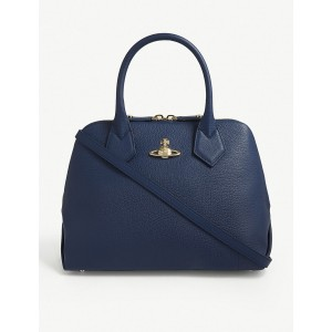 VIVIENNE WESTWOOD Women Balmoral leather tote Zip closure PODSUDS