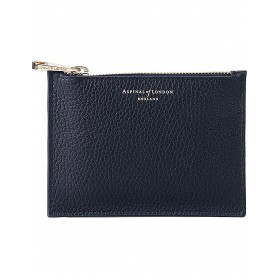 ASPINAL OF LONDON Women Essential small leather pouch Zip closure HVNJXMX