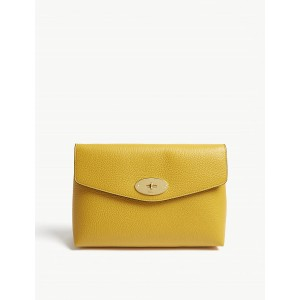 MULBERRY Women Large Darley pouch Signature postman's lock LCMAWAI