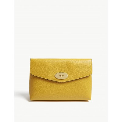 MULBERRY Women Large Darley pouch Signature postman&#39s lock LCMAWAI