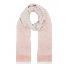 Guess All Over Logo Ombre Long Scarf Neck scarves Pattern D895295 HNGNQMQ