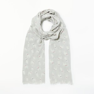 Women Collection WEEKEND by John Lewis Ralf The Dog Print Scarf Grey/Multi 44029510 ZPKPSPA