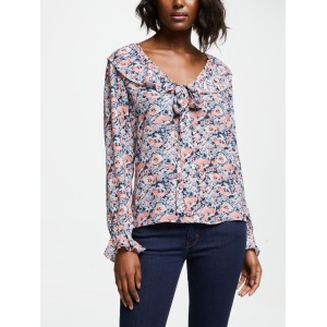 Lily and Lionel Joni Floral Top Vintage Floral 81490505 GVKLMXS